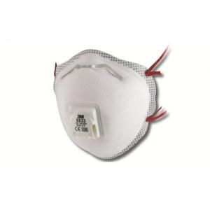Sikkerhedsmaske med ventil 3M 8833; FFP3