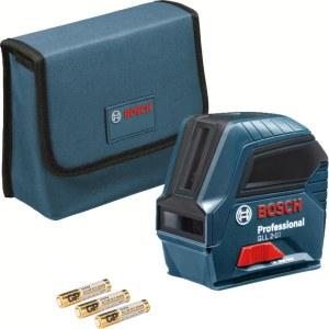 Selvnivellerende krydslinjelaser Bosch GLL 2-10