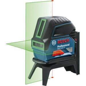 Laser niveau Bosch GCL 2-15 G grøn + holder RM1