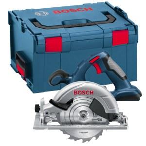 Batteridrevet rundsav Bosch GKS 18 V-LI Solo (uden batteri og oplader)