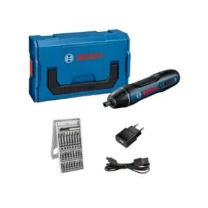 Skruetrækker Bosch GO l-boxx Mini; 3,6 V; 1x1,5 Ah batt.