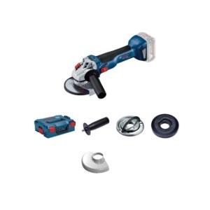 Vinkelsliber Bosch GWS 18V-10 Solo L-Boxx; 18 V; (uden batteri og oplader)