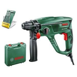 Borehammer Bosch PBH 2100 RE; 1,7 J; SDS-plus + 6 drill Bit Set