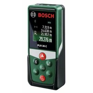 Laserafstandsmåler Bosch PLR 30 C med Bluetooth-funktion