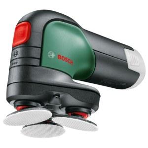 Slibe- og polermaskine Bosch EasyCurv Sander; 12 V (uden batteri og oplader)