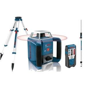 Laser niveau Bosch GRL 400 H + Lasermodtager LR1 + Stativ BT 170 HD + Målestang GR 240
