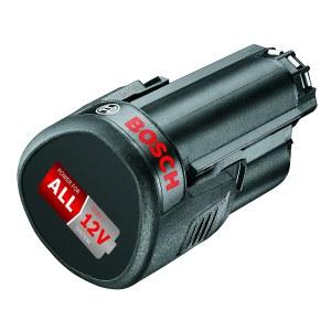 Batteri Bosch PBA 12; 12 V; 2,5 Ah; Li-ion