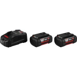 Batteri Bosch GBA; 36 V; 2x6,0 Ah + batterioplader GAL 3680 CV