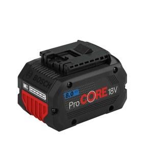 Batteri Bosch ProCORE; 18 V; 8,0 Ah; Li-ion
