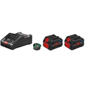 Tilbehørssæt Bosch ProCORE; 2x8,0 Ah batteri. + lader GAL18-160 C
