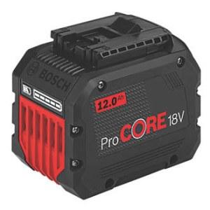 Batteri Bosch ProCORE; 18 V; 12,0 Ah; Li-ion