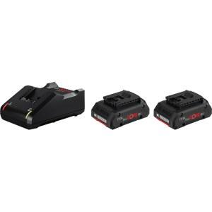 Tilbehørssæt Bosch ProCORE; 18 V; 2x4,0 Ah + lader GAL 18V-40