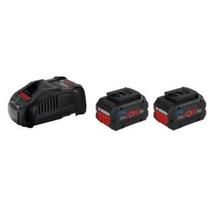 Tilbehørssæt Bosch GBA ProCORE; 18 V; 2x5,5 Ah batteri. + oplader GAL 1880CV
