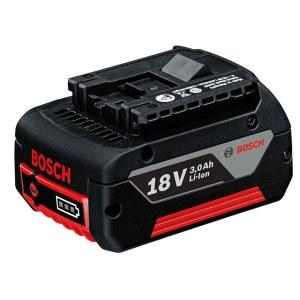 Batteri Bosch 18 V; 3,0 Ah; Li-lon