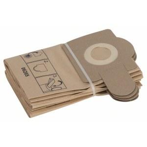 Papirposer til støvsuger Bosch, PAS 12-27, 5 stk.