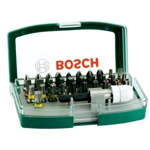 Bitssæt Bosch Promoline Colored; 32 stk.