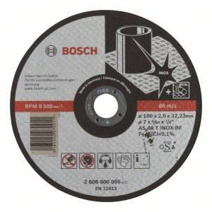 Skæreskive Bosch AS 46 T INOX BF; 180x2 mm