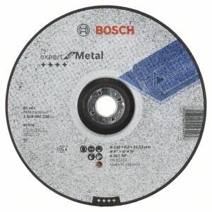 Slibeskive Bosch A 30 T BF; 230x6 mm