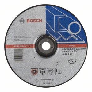 Slibeskive Bosch A 30 T BF; 230x8 mm