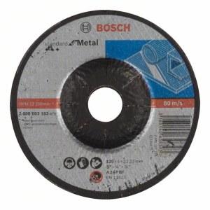 Slibeskive Bosch Standard; 125x6 mm