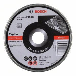Skæreskive Bosch Rapido 125x1 mm; 10 stk.