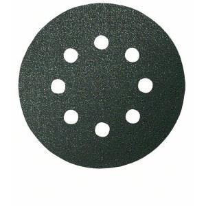Slibepapir til sten; Paxgex; Ø 125 mm; K80; 5 stk.