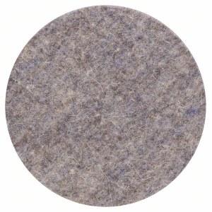 Polerskive til excentersliber Bosch; 128 mm blød