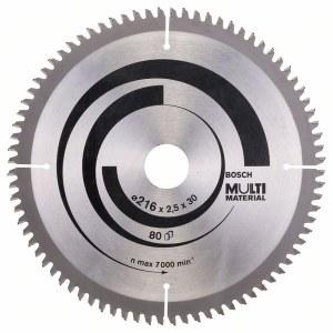 Universal rundsavsklinge Bosch; MULTI MATERIAL; Ø216 mm