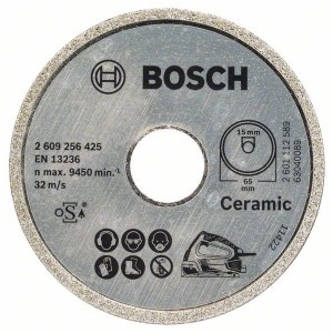 Diamantskæreskive Bosch PKS 16 Multi Ceramics; 65 mm