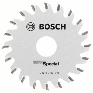 Rundsavsklinge til træ Bosch Multi Precision; 65x1,6x15,0 mm; Z20