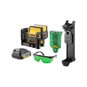 Laser niveau DeWalt DCE085D1G-QW; grøn