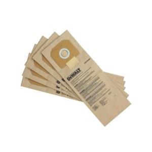 Papirposer til støvsuger DeWalt DWV9401-XJ; 5 stk.