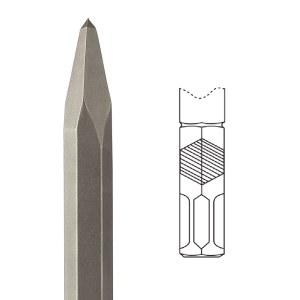 Skarp mejsel Diager; HEX 22 mm; 360 mm