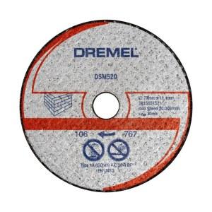 Skæreskive til murværk Dremel 2615S520JB; 77 mm