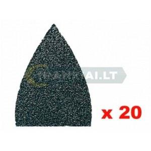 Sandpapir til deltasliber Fein; P120; 20 stk.