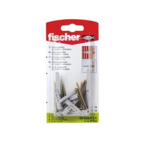 Selvskrue skrue med pin Fischer UX R S; 6x50 mm; 10 stk.
