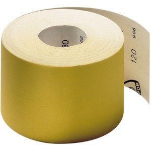 Slibende papirrulle Klingspor; PS 30 D; 115x4500 mm; K150; 1 stk.