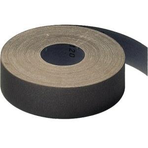 Slibende papirrulle Klingspor; KL 385 JF; 115x5000 mm; K120; 1 stk.