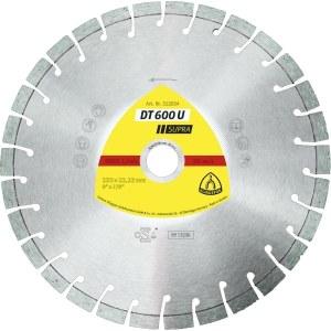Diamantskæreskive til tørskæring Klingspor DT 600 U Supra; 300x2,8x25,4 mm