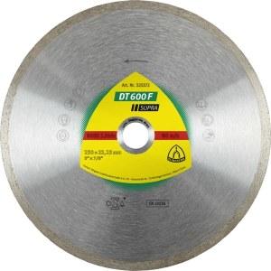 Diamantskæreskive til vådskæring Klingspor DT 600 F Supra; 180x1,6x30,0 mm