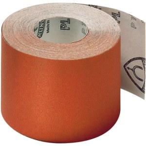 Slibende papirrulle Klingspor; PL 31 B; 95x50000 mm; K80; 1 stk.