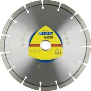 Diamantskæreskive til tørskæring Klingspor DT 600 GU Supra; 230x2,6x22,23 mm