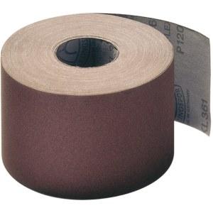 Slibende papirrulle Klingspor; KL 361 JF; 110x50000 mm; K80; 1 stk.