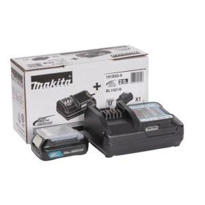 Tilbehørssæt Makita; 12 V; 1x2,0 Ah batteri. + lader DC10WD