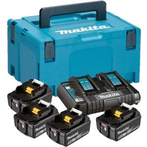 Tilbehørssæt Makita 197626-8 beregnet til 18 V akku værktøjer