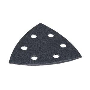 Sandpapir til deltasliber 93x93 mm; P120/240/400/600/1200; 10 stk.