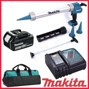 Batteridrevet fugepistol Makita DCG180RFX; 18 V; 1x3,0 Ah batt.