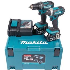 Værktøjssæt Makita DLX2127MJ (DDF482+DTD152); 18 V; 2x4,0 Ah batt.