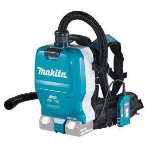 Batteridrevet støvsuger Makita DVC265ZXU; 2x18 V (uden batteri og oplader)