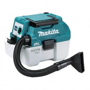 Støvsuger Makita DVC750LZ; 18 V; HEPA (uden batteri og oplader)